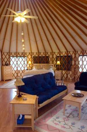 StoneWind Retreat  Luxury Yurt Cabins for Romantic Getaways